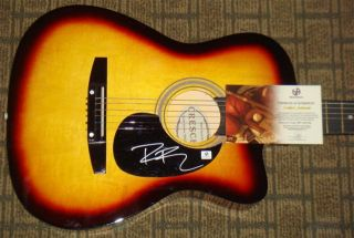 Dierks Bentley Autograph Full Size Guitar Country Music Super Star GAI