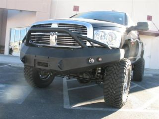 2006 2009 Dodge RAM 2500 5500 Fab Fours Front Winch Bumper Pre Runner
