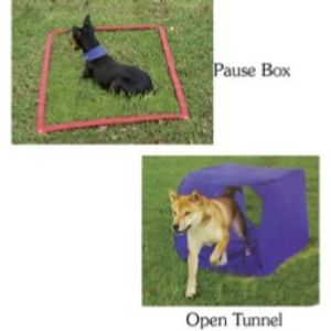 Outward Hound Doggie Obstacle Course Dog Agility Kit