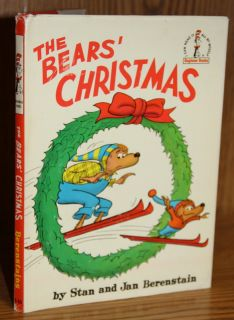 Dr. Seuss Beginner Books THE BEARS CHRISTMAS 1970 1st w/DJ Berenstain