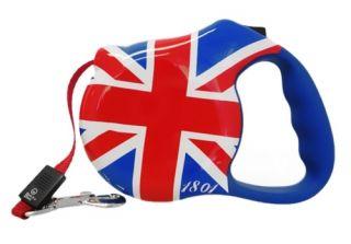 Avant Garde London Calling Retractable Med Dog Leash