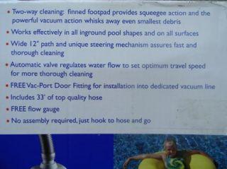 Swimming Pool Cleaner Pool Shark Automatic Vacuum Inground