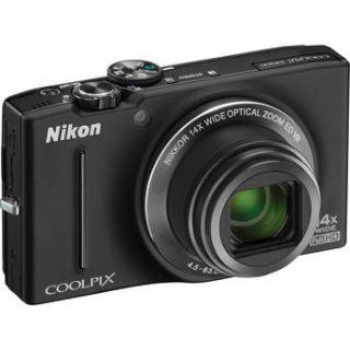 nikon coolpix s8200 digital camera black refurbished