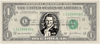 The Edge WWE Dollar Bill Mint Real $$ Celebrity Novelty Collectible