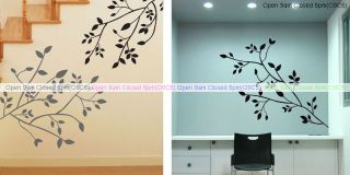 Dream of A Tree Branch Wall Decals Stickers Home Decor