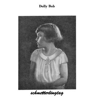 Flapper Hairstyle Book Long Short Hairstyles How 1924