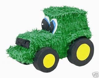 Tractor Pinata John Deere Farm Themed Birthday Party Supplies Games