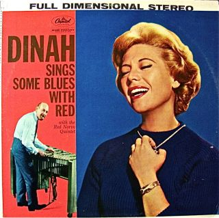 DINAH SHORE RED NORVO QUINTET DINAH SINGS SOME BLUES WITH RED CAPITOL