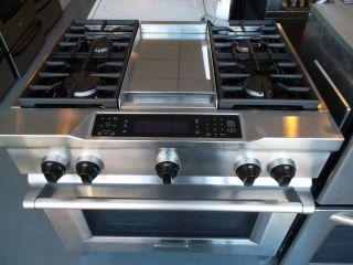 ... KitchenAid Pro Style® 36 Dual Fuel Range Plus Griddle ...