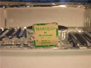 Marquis Waterford Crystal Art Deco Votive Candle Holder