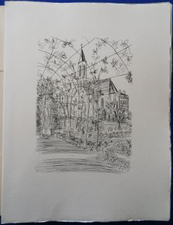 portfolio illustrated with some of the finest etching of Raoul DUFY