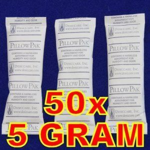Silica Gel Desiccant Dry Pillow Pak Humidity Odor Absorbant
