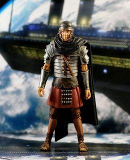 Doctor Dr Who Roman Soldier Auton Jointe Auction Figure Boy Collection