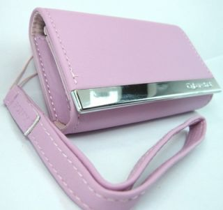 Camera Leather Case for Sony DSC TX10 WX10 WX7 T110 TX5