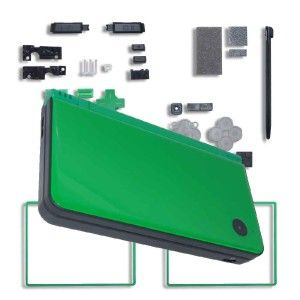Green Nintendo DSi XL Replacement Shell Casing Repair
