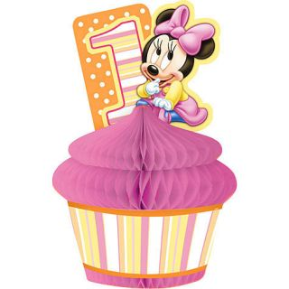 Disney Babies Minnie 1st Birthday Favor Centerpiece Decoration First