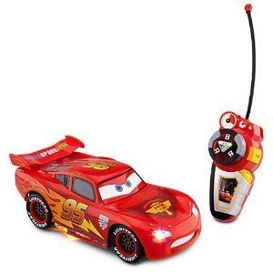 Official Licensed Disney Cars 2 Lightning McQueen Remote Control Car