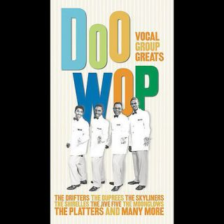 Doo Wop Vocal Group Greats New CD Boxset