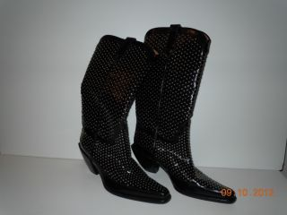 DONALD J. PLINER WESTERN COUTURE COLLECTION BOOTS WORN ONE TIME SIZE 6