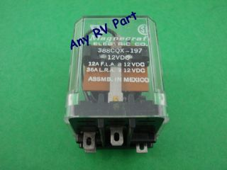 Duo Therm RV Furnace Blower Relay 312812001