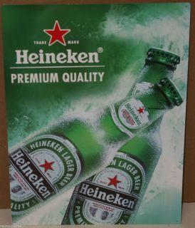 Red Star Beer Premium Quality Metal Beer Sign Dorn Bar Recroom