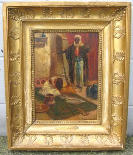 Original Signed Oil Painting by Dudley Hardy R B A 1867 1922