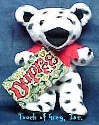 Dupree Spotted Grateful Dead Bean Bear