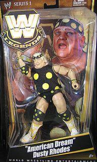 Dusty Rhodes WWE Legends 1 Toy Wrestling Action Figure