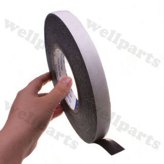 50m black double sided adhesive tape for lcd touch screen