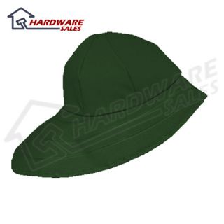 Dutch Harbor Gear HD229 Grn XL Green XL Quinault Rain Hat