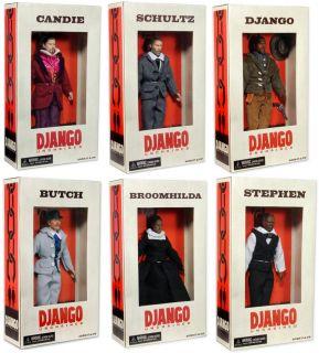 Django Unchained Series 1 8 Action Figure Assorted Case Of 10