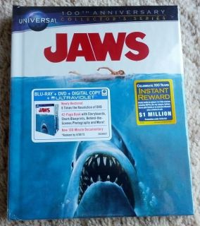 New Jaws Blu Ray DVD DC Best Buy Exclusive DigiBook RARE