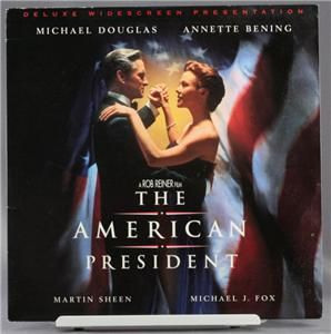 Laser Disc Movie The American President Michael Douglas