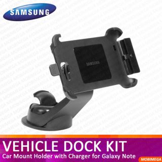 Genuine Samsung ECS K1E1 Vehicle Dock Kit Car Mount Galaxy Note N7000