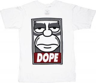 Dope Simpsons Sheer T Shirt