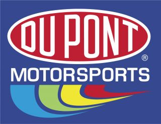 Dupont Motorsports NASCAR Racing Bumper Windows Locker Sticker Decal 5