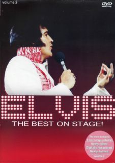 Elvis Presley The Best On Stage Vol 2 DVD New Release Sealed