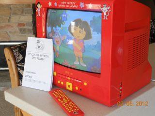 Dora The Explorer DVD TV Combo 13 Inch