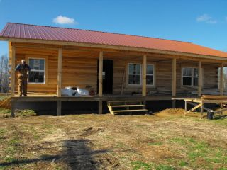 30x40 log cabin kit precut home 1232sf dry in shell open for 1000 sq ft cabin kits