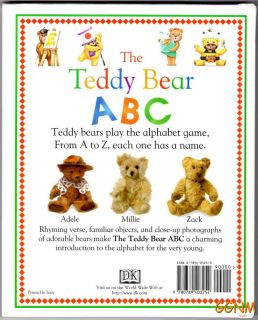 Teddy Bear ABC Book Dorling Kindersley Children Series Alphabet