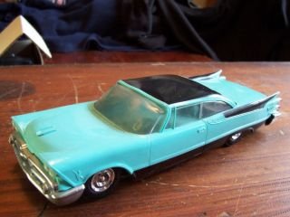 1959 Johan Dodge Custom Royal Aqua Black Model Promo Car