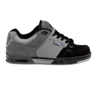 DVS Squadron Mens Skate Shoes New Free SHIP Size 8 13 Black Grey Tech