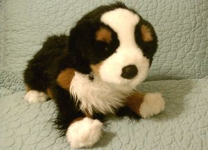 Douglas Plush Bernese Mountain Dog Stuffed Animal Puppy Trevor 16in