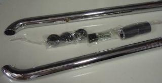 Dodge RAM Tube Bed Side Rails Chrome Short Box 08 Mopar Factory