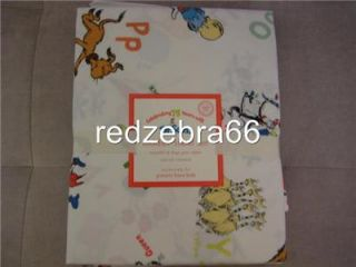 Pottery Barn Kids Dr Seuss Crib Toddler Sheet Set 3 PC New