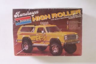 4x4 Dodge Ramcharger High Roller Lifted Monogram 1 24 SEALED Model Kit