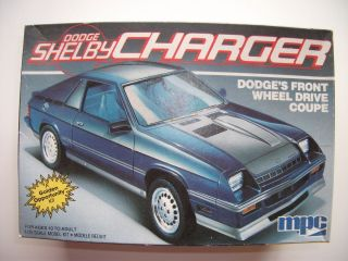 Dodge Shelby Charger Model Kit