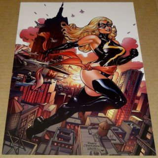 MS MARVEL POSTER TERRY DODSON AVENGERS MARVEL COMICS X MEN SKRULL