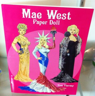 Tom Tierney Paper Doll Book Mae West