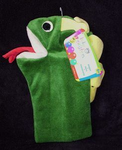 Baby Einstein Bard Green Dragon Hand Puppet Toy